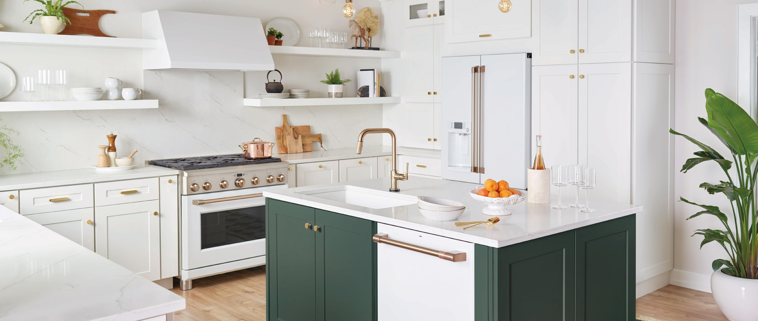 cafe matte white kitchen suite