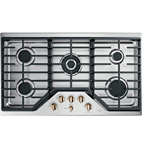 stainless steel gas cooktop