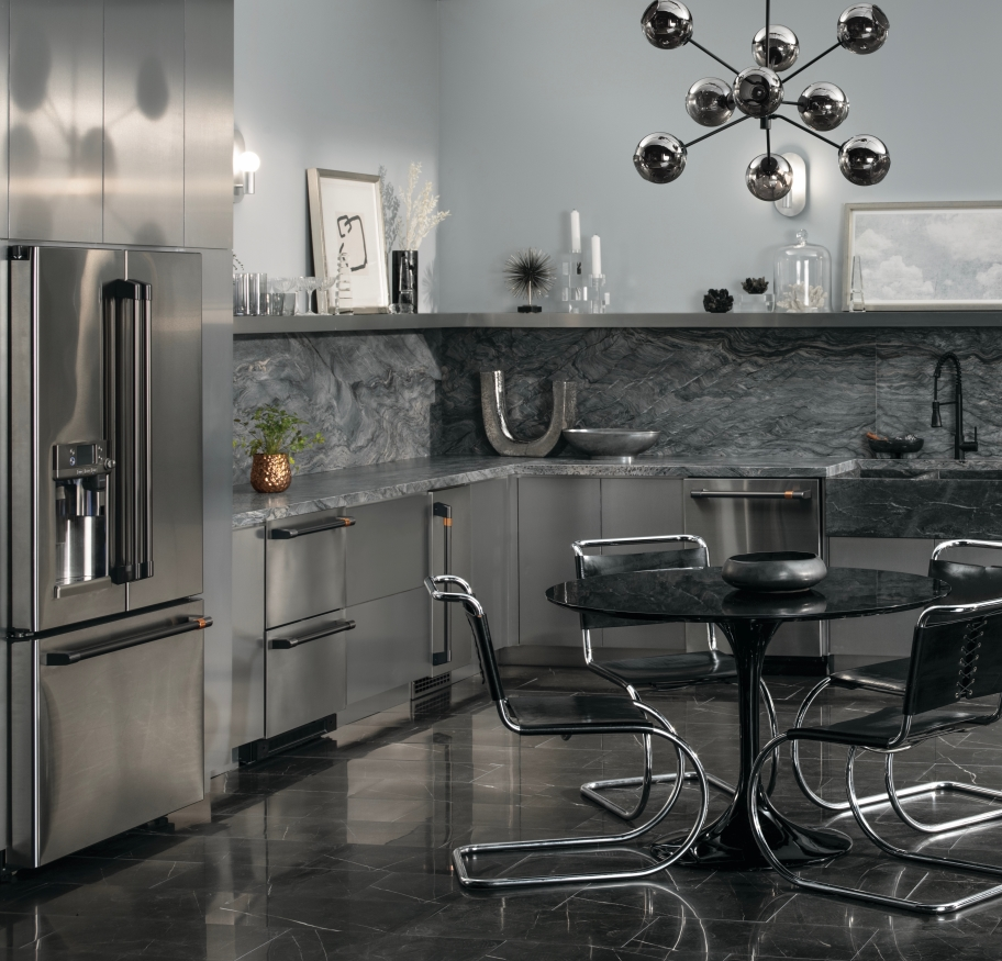 cafe stainless steel kitchen suite