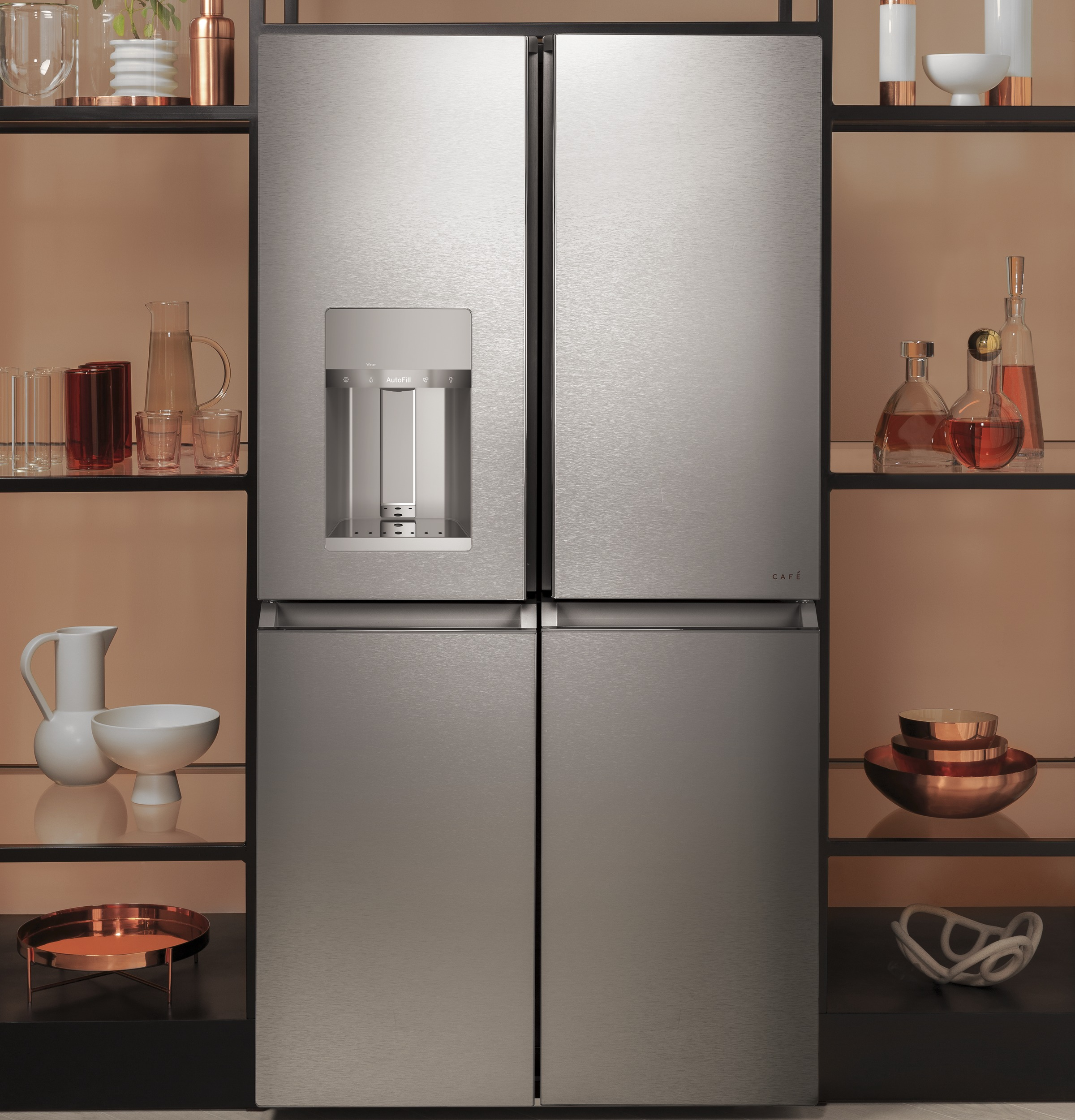 Smart Quad-Door Refrigerator
