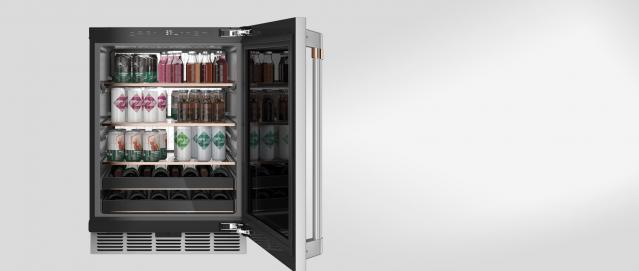 Stocked Beverage Center