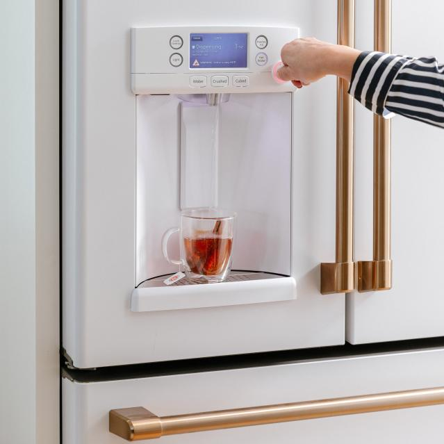 Keurig refrigerator warm water dispenser for tea