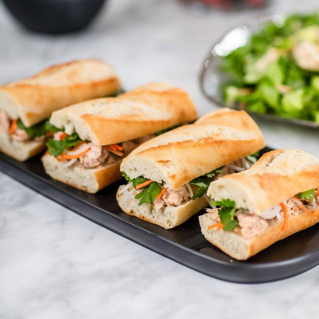 Bánh Mì-Style Tuna Sandwiches