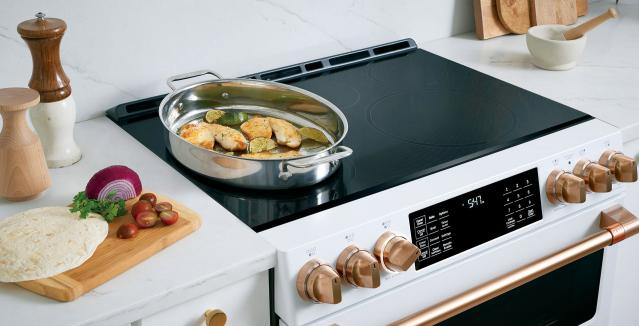 Top of induction range